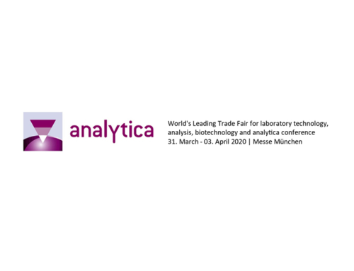Visit our stand at Analytica 2020